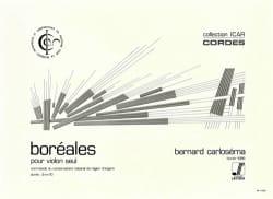 Bernard Carloséma - Boréales - Partition - di-arezzo.fr