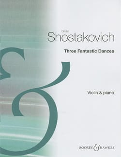 Dmitri Chostakovitch - 3 Fantastics dances op. 5 - Partition - di-arezzo.fr