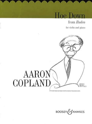 Hoe Down from Rodeo COPLAND Partition Violon - laflutedepan