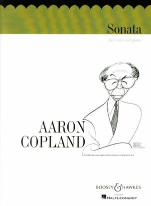 Sonata - Violin COPLAND Partition Violon - laflutedepan
