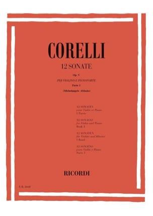 CORELLI - 12 Sonates op. 5 Volume 1 1 à 6 Abbado - Partition - di-arezzo.fr