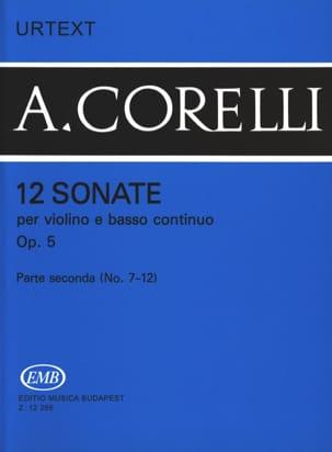 CORELLI - 12 Sonatas Op. 5 Volume 2 7 to 12 - Sheet Music - di-arezzo.com
