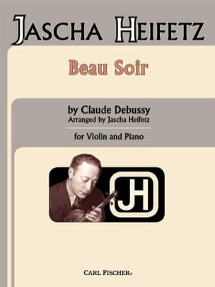 DEBUSSY - Beautiful evening - Sheet Music - di-arezzo.co.uk