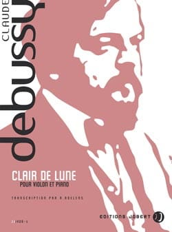 Clair de lune - Violon piano DEBUSSY Partition Violon - laflutedepan