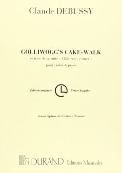 DEBUSSY - Golliwogg's Cake-Walk - Sheet Music - di-arezzo.co.uk