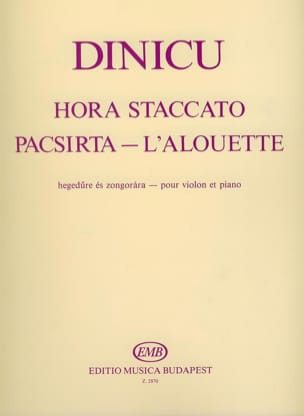 Grigoras Dinicu - Hora staccato / Alouette Pacsirta - Sheet Music - di-arezzo.co.uk