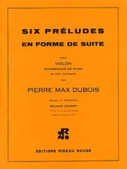 Pierre-Max Dubois - 6 Preludes in continuation form - Sheet Music - di-arezzo.co.uk
