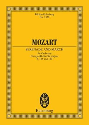 MOZART - Serenade D-Dur (KV 185) und Marsch D-Dur (KV 189) D-Dur - Partition - di-arezzo.fr