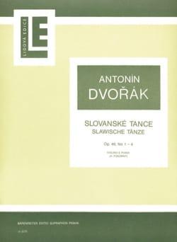 Slawische Tänze op. 46 n° 1-4 - Antonin Dvorak - laflutedepan.com