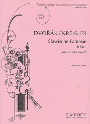 Slavonic phantasy n° 2 DVORAK Partition Violon - laflutedepan