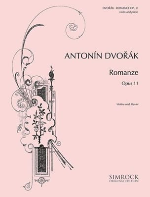 Antonin Dvorak - Romance op. 11 - Sheet Music - di-arezzo.co.uk
