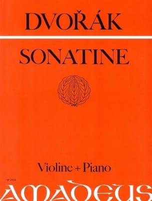 Sonatine op. 100 G-Dur - DVORAK - Partition - laflutedepan.com