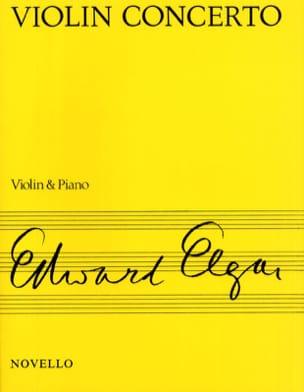 Concerto Violon op. 61 ELGAR Partition Violon - laflutedepan