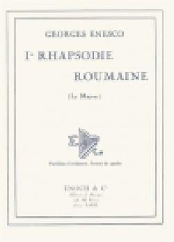 Rhapsodie roumaine n° 1 op. 11 n° 1 ENESCO Partition laflutedepan