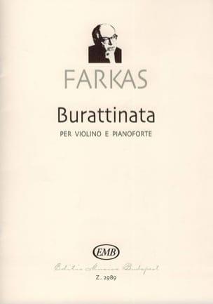 Ferenc Farkas - Burattinata - Sheet Music - di-arezzo.com