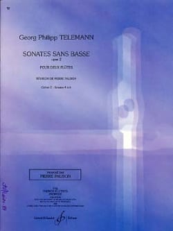 TELEMANN - Sonatas Without Bass Opus 2 Volume 2 - Sheet Music - di-arezzo.com