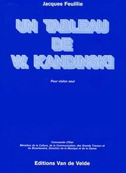 Un tableau de W. Kandinski Jacques Feuillie Partition laflutedepan