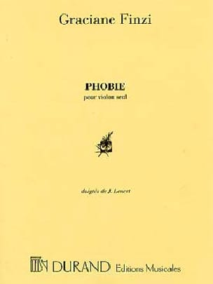 Graciane Finzi - Phobia - Sheet Music - di-arezzo.co.uk