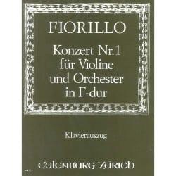 Frederigo Fiorillo - Concerto Violon n° 1 fa majeur - Partition - di-arezzo.fr