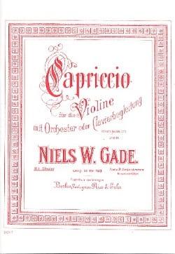 Capriccio - Niels Wilhelm Gade - Partition - Violon - laflutedepan.com