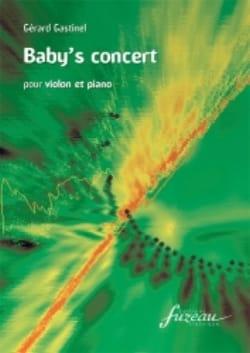 Gérard Gastinel - Baby's concert - Sheet Music - di-arezzo.com