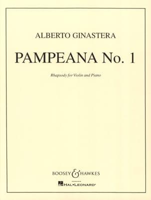 Alberto Ginastera - Pampeana n ° 1 op. 16 - Partitura - di-arezzo.es