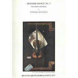 Enrique Granados - 2 Spanish dances: Oriental, Danza sad - Sheet Music - di-arezzo.com