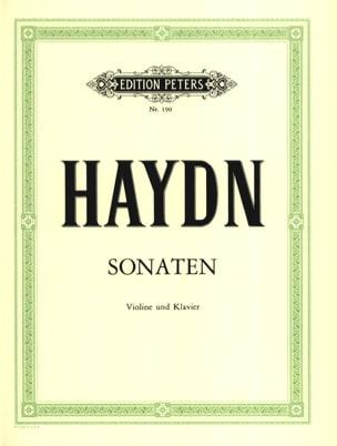 Joseph Haydn - Sonates (Holländer) - Partition - di-arezzo.fr