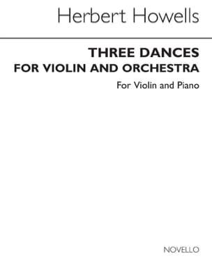 Herbert Howells - 3 Dances - Sheet Music - di-arezzo.com
