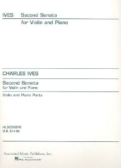 Charles E. Ives - Sonate n° 2 - Partition - di-arezzo.fr