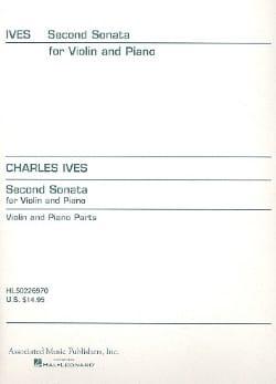 Sonate n° 2 IVES Partition Violon - laflutedepan