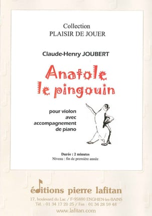 Claude-Henry Joubert - Anatole the Penguin - Sheet Music - di-arezzo.com