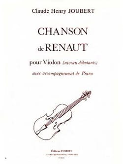 Claude-Henry Joubert - Song of Renaut - Sheet Music - di-arezzo.com