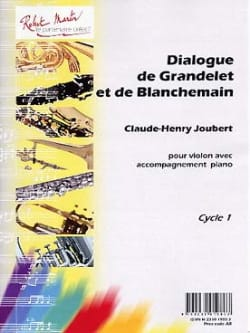 Claude-Henry Joubert - Dialogue of Grandelet and Blanchemain - Sheet Music - di-arezzo.co.uk