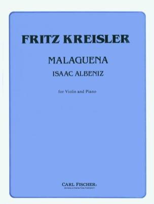 Malaguena Kreisler Fritz / Albeniz Isaac Partition laflutedepan