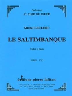 Michel Leclerc - The Saltimbanque - Sheet Music - di-arezzo.co.uk