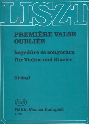 Franz Liszt - First forgotten waltz - Sheet Music - di-arezzo.com