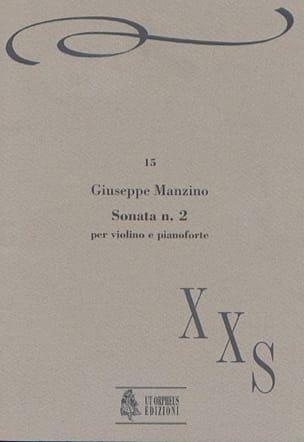Giuseppe Manzino - Sonata n ° 2 - Sheet Music - di-arezzo.com