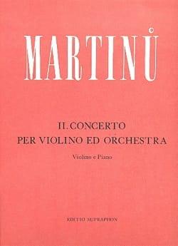 Bohuslav Martinu - 協奏曲第2番 - ヴァイオリン - 楽譜 - di-arezzo.jp