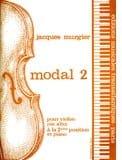 Modal 2 Jacques Murgier Partition Violon - laflutedepan