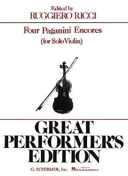 Niccolò Paganini - 4 Paganini Encores - Partitura - di-arezzo.es