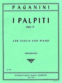 I Palpiti op. 13 (Francescatti) - Niccolò Paganini - laflutedepan.com