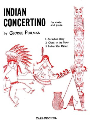 George Perlman - Indian Concertino - Partition - di-arezzo.fr