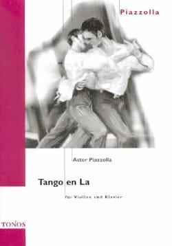 Astor Piazzolla - Tango en La - Partition - di-arezzo.fr