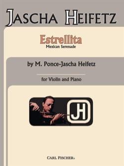Ponce Manuel Maria / Heifetz Jascha - Estrellita - 楽譜 - di-arezzo.jp