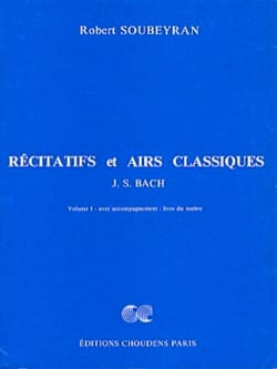 Robert Soubeyran - Recitatives and Classics, Volume 1 - Master - Sheet Music - di-arezzo.co.uk