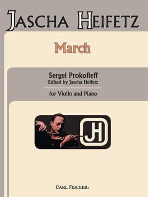 Marche Prokofiev Serge / Heifetz Jascha Partition laflutedepan
