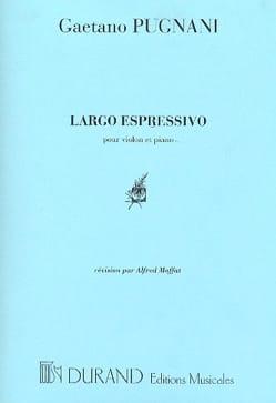 Gaetano Pugnani - Largo Espressivo - Partition - di-arezzo.fr