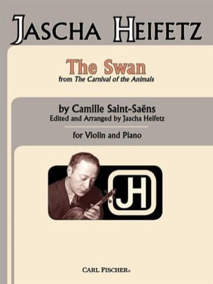 Camille Saint-Saëns - The Swan – Violon - Partition - di-arezzo.fr