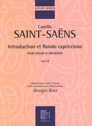 Camille Saint-Saëns - Introduction et Rondo Capriccioso Op.28 - Partition - di-arezzo.fr